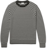 Saint Laurent - Striped Merino Wool Sweater