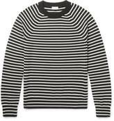 Saint Laurent Striped Merino Wool Sweater