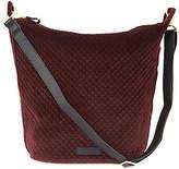 Vera Bradley Carson Velvet Zip Top Hobo Handbag
