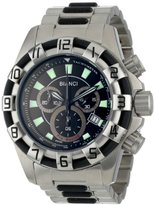 Roberto Bianci Men's 7064ttgun_blk Pro Racing Watch
