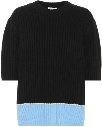 Dries Van Noten Morwenna cashmere and wool top