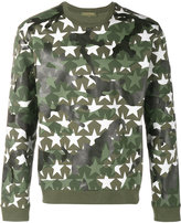 Valentino Camustars sweatshirt - men - Cotton/Polyamide - S