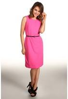 Calvin Klein Sheath Dress (Neon Pink) - Apparel