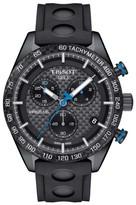 Tissot Men's Prs516 Chronograph Rubber Strap Watch, 42Mm
