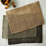 west elm Fishnet Woven Placemat Set