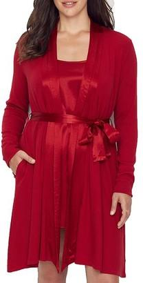 PJ Harlow Elijah Ribbed Knit Robe