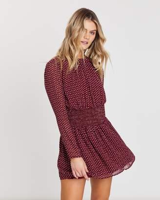 Atmos & Here Long Sleeve Mini Dress