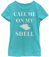 Fifth Sun Tahi Blue 'Call me on my Shell' Tee - Toddler & Girls