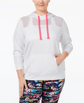Material Girl Active Plus Size Scuba Hoodie, Only at Macy's