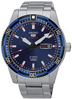 Seiko Unisex SRP731K1 Men Analogue Watch with Blue Dial Analogue