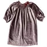 Marie Chantal Gift Shop Velvet Dress - Berry