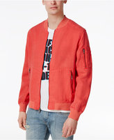 GUESS Men's Faded Bomber Jacket