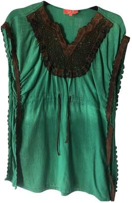 Manoush Green Wool Dress for Women