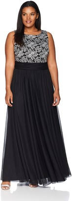 Jessica Howard JessicaHoward Women's Size Rushed Waist Gown