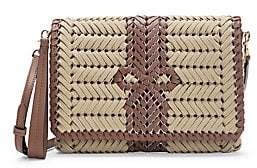 Anya Hindmarch Women's Neeson Woven Leather Crossbody Bag