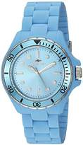 Seapro Women's 'Spring' Quartz Stainless Steel and Silicone Casual Watch, Color:Blue (Model: SP3211)
