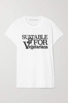 Stella McCartney Printed Cotton-jersey T-shirt - White