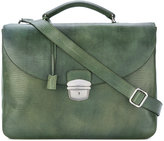 Orciani top handle briefcase