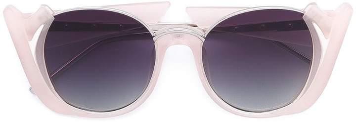 Prabal Gurung round frame sunglasses
