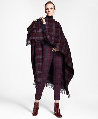 Brooks Brothers Tartan Wool Ruana