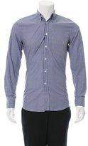 Alexander McQueen Gingham Button-Up Shirt