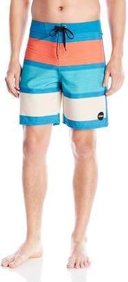 Eidon Young Men's Men's Nomad Big Stripe Boardshort