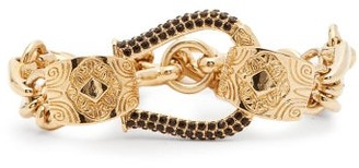 Etro Horseshoe Three-chain Bracelet - Gold