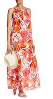 Lands' End Canvas Floral Maxi Dress
