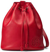 Gucci Soho Drawstring Backpack Red