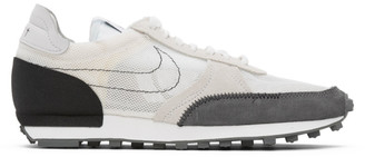 Nike White and Black Daybreak Type N.354 Sneakers