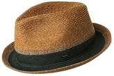 Bailey Of Hollywood Grimet Woven Stripe Fedora
