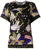 Emilio Pucci archer print blouse - women - Silk - 42