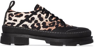 Ganni Leo hybrid sneakers
