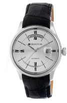 Heritor Vernon Mens Black Strap Watch-Herhr5805