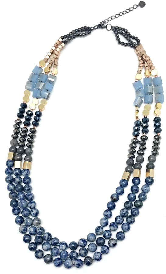 Nakamol CHICAGO Blu Bliss Necklace
