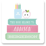 Minted Book Wise Custom Stickers