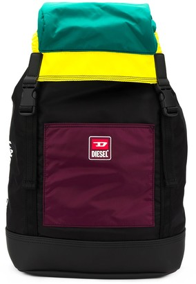 Diesel Colour Block Backpack