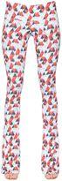 Just Cavalli Heart Printed Viscose Pants