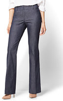 New York & Co. 7th Avenue Pant - Bootcut - Modern - Navy - Petite