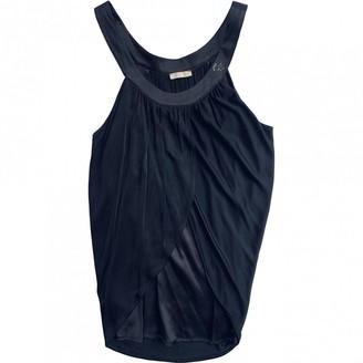 Byblos Black Silk Top for Women