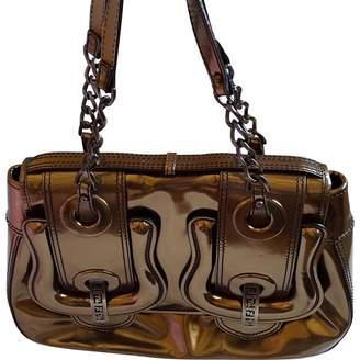 Fendi \N Metallic Patent leather Handbags