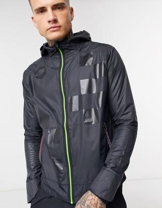 Nike Running Run Wild Pack Shield jacket in black