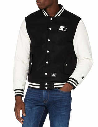 STARTER BLACK LABEL Men's College Varsity Jacket