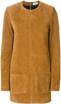 Saint Laurent textured short dress