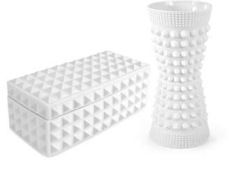 Jonathan Adler Charade Vase & Box Bundle