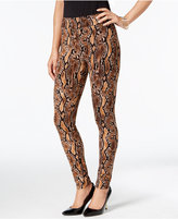 Thalia Sodi Snake-Print Leggings, Only at Macy's