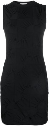 Coperni Gathered Detail Fitted Dress