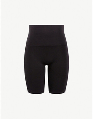 Spanx Look At Me Now high-rise stretch-woven shorts