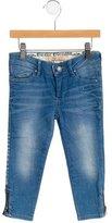 John Galliano Girls' Embellished Jeans