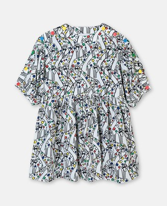 Stella McCartney giraffe cotton dress